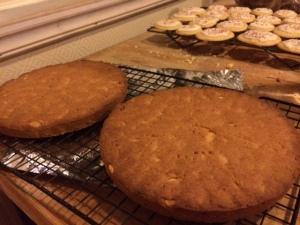honey almond shortbread