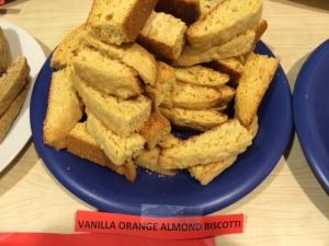 Cointreau-ified vanilla orange biscotti