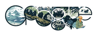 Google Doodle for Dian Fossey