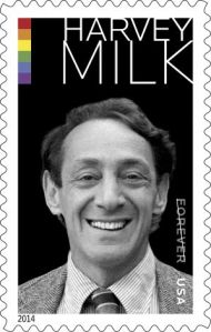 USPS Harvey Milk postage stamp