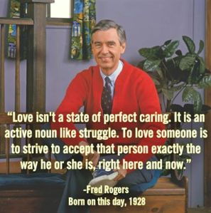 Mr Fred Rogers on love