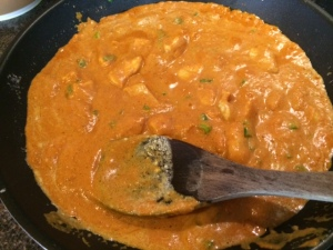 Chicken masala - final product