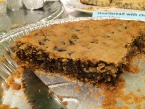 Gooey insides of crack pie