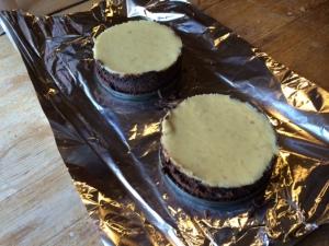 gluten-free banana cheesecake